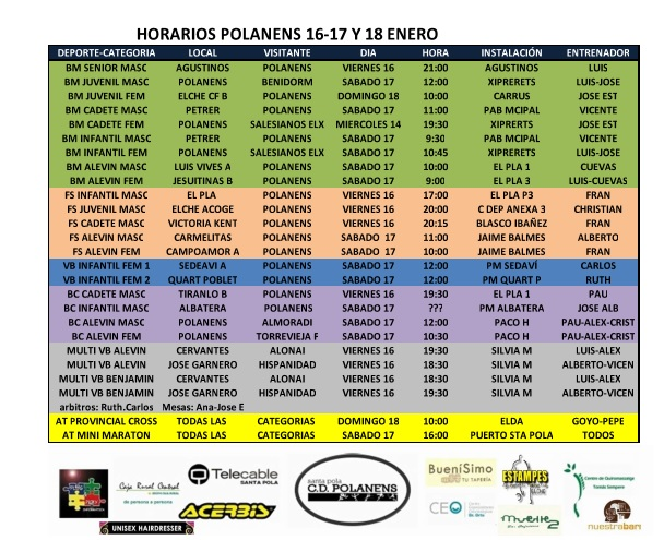 16-17-18 ENERO