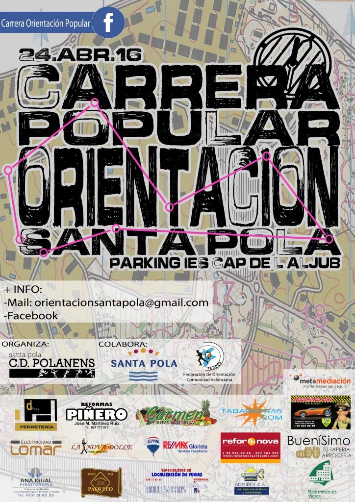 CARTEL CON LOGOS CARRERA DE ORIENTACIÓN 2