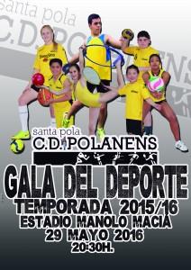 Cartel Gala del Deporte 2016
