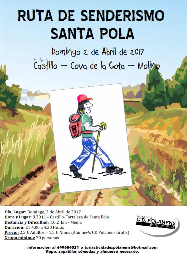 Ruta Senderismo 2 Abril