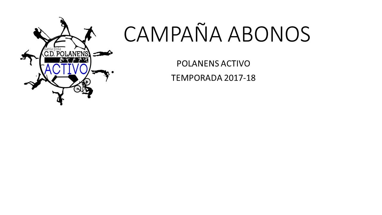 CAMPAÑA ABONOS PORTADA WEB
