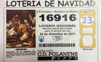 NUMERO DE LOTERIA POLANENS