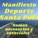 MANIFIESTO DEPORTE SANTA POLA